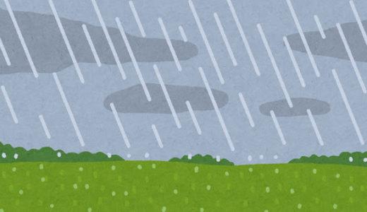 【平成30年7月豪雨】雨に対する認識を改めよう。